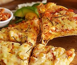 孩子最爱的意大利肉酱披萨的做法