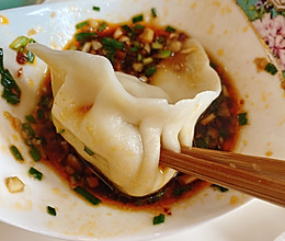 荠菜猪肉水饺的做法