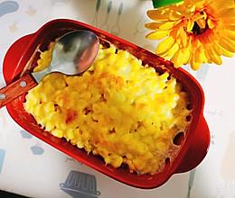 芝士焗玉米的做法