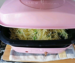 #麦子厨房美食锅#素炒土豆丝的做法