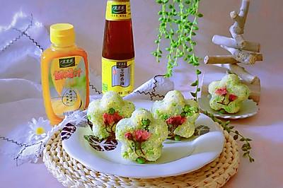 豌豆汁心饭团