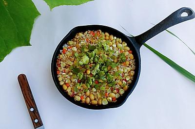 米米胡胡黄花饭