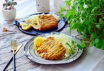 蓝带芝士爆浆猪排-法式料理的做法