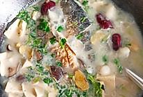 奶白奶白的鲫鱼豆腐汤的做法