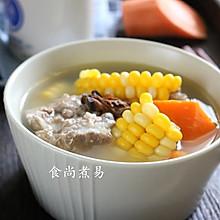玉米蚝干猪骨汤