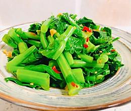 凉拌油菜苔的做法