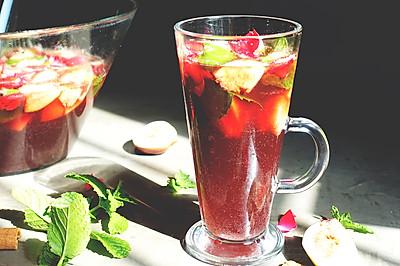 摩洛哥桑格利亚冰茶(Sangria)安卡西厨