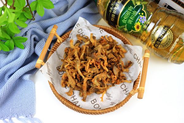 炸蘑菇(空气炸锅)