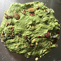 将健康低卡进行到底-抹茶全麦多果料代餐面包的做法图解4