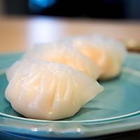 水晶虾饺 - 跟着顶级厨师学做虾饺的做法图解8