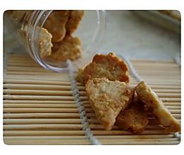 花生燕麦饼干的做法