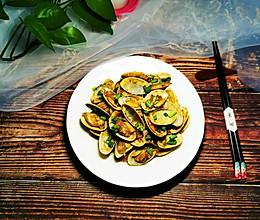 #餐桌上的春日限定#姜葱炒油蛤的做法