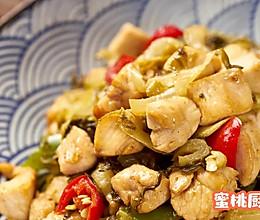 酸菜鸡米的做法