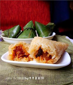 菜鸟也能包粽子:五香鲜肉粽【图片】