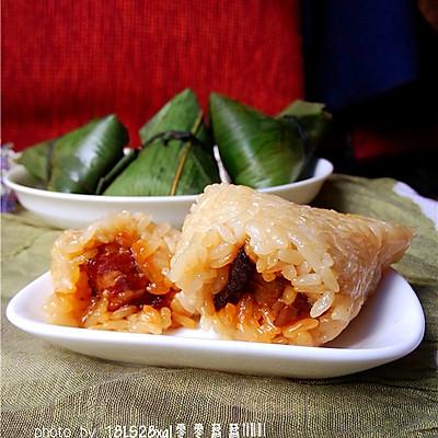 菜鸟也能包粽子:五香鲜肉粽