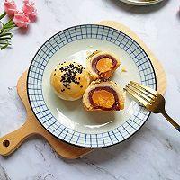 豆沙蛋黄酥#晒出你的团圆大餐#的做法图解24