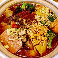 火锅烩菜的做法图解5