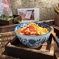 番茄丝瓜蛋汤的做法图解8