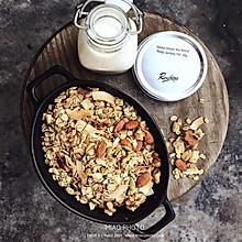 椰子油烤燕麦片