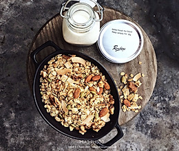椰子油烤燕麦片的做法