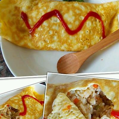蛋包饭--美味又快速的解决一顿饭。
