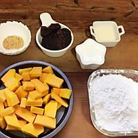 奶香红豆沙南瓜饼#MEYER·焕新厨房,唤醒味觉#的做法图解1