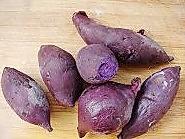 紫薯椰蓉球 的做法图解1