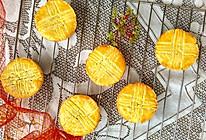 #中秋宴,名厨味# 法式蓝莓乳酪月饼的做法