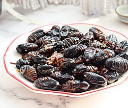 蚝油蚕蛹的做法