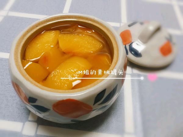 黄桃罐头(超简单)