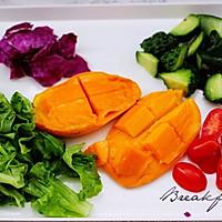 #精品菜谱挑战赛#蒜香沙拉时蔬水果的做法图解7