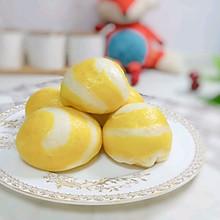 双色奶香小馒头:宝宝辅食营养食谱菜谱
