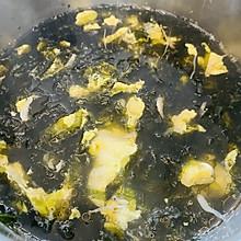 快手汤❤️虾皮紫菜蛋花汤