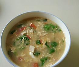 家常拌汤的做法