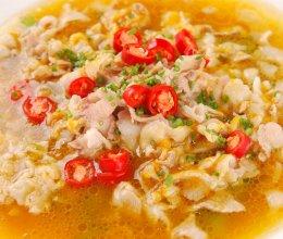 酸汤肥牛卷的做法