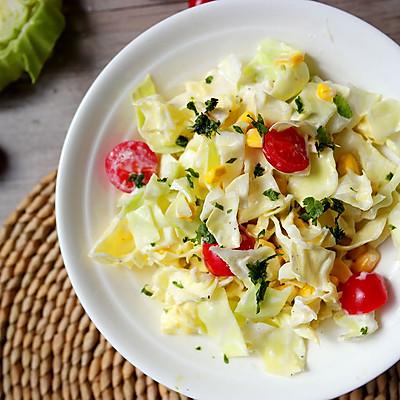 超模卷心菜沙拉