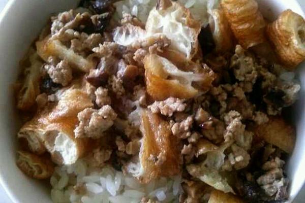 清淡型糯米饭的做法