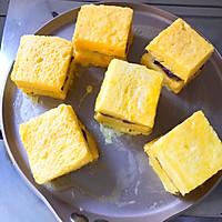 #好吃不上火#紫薯芋泥西多士的做法圖解11