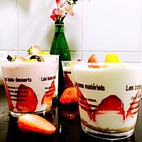 风情酸奶芒果慕斯杯的做法图解7