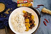 红烧鹅肉咖喱海带饭#百梦多Lady咖喱#的做法
