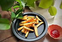#夏日冰品不能少#烤薯条,夏天少吃点油炸的做法