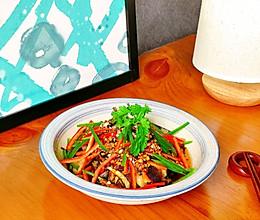 夏日凉拌菜『油泼茄子』#我们约饭吧#的做法