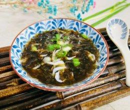#我们约饭吧#虾皮紫菜汤的做法