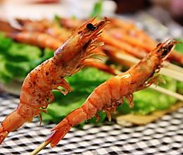 大人小孩都喜欢——竹签烤虾的做法