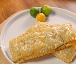 香甜酥脆的香蕉派,只需3种常见食材,成本不到2块,就能在家做的做法