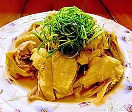 葱油蒸鸡的做法