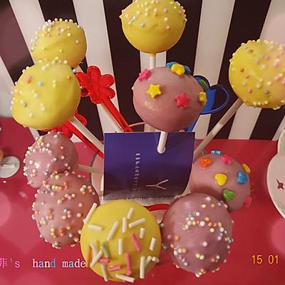 棒棒糖蛋糕cake pops