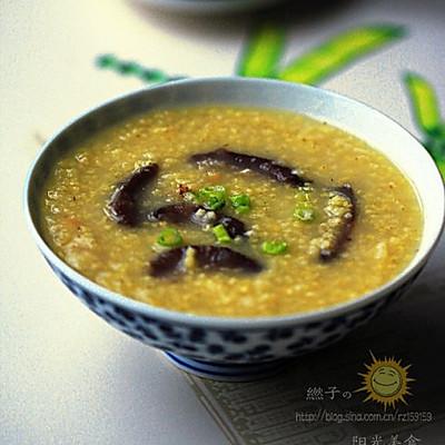海参黄米粥