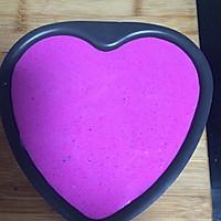 红心火龙果慕斯蛋糕的做法图解5