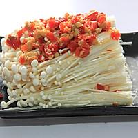 简单好滋味---剁椒金针菇的做法图解4